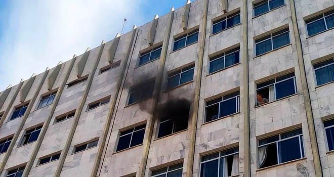 Princípio de incêndio em hotel assusta jogadores do Moto em Imperatriz-MA