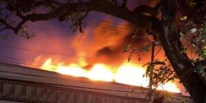 Cinemateca Brasileira tem galpão atingido por incêndio em São Paulo